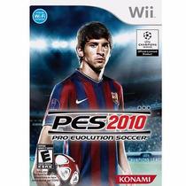 Pro Evolution Soccer 2010 Pes 10 - Wii Original Rcr Games