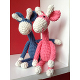 Jirafa Amigurumis 25 Cm Muñecos Tejidos Crochet Amigurumi