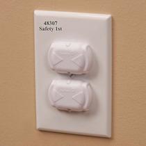 Protector De Enchufe Con Seguridad Niños (8pck) Safety 1st