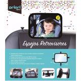 Espejo De Auto Para Bebé Vista 360 Grados Rectangular Priori
