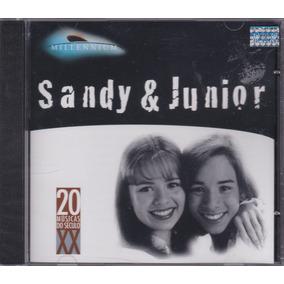 Sandy & Junior - Cd Millennium - Lacrado - 20 Sucessos