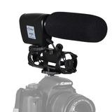 Microfone Shotgun Para Câmera Canon Eos 5d Mark Iii