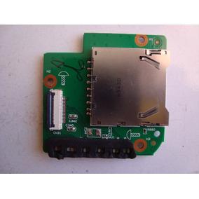Placa Filha Leitor Cartão/leds Netbook Toshiba Sti Is 1003g