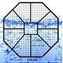 Base Metálica Eternit Para Tanque De Agua 1,10 X 1,20 M