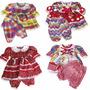 Vestido Festa Junina Infantil Menina 1 A 4 Anos Lançamento