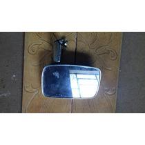 Espelho Retrovisor Esq Cromado Metal Corcel Vidro Trincado