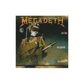 Megadeth So Far So Good...so What Cd Novo