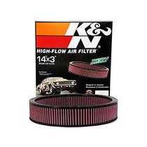 Filtro Alto Flujo K&n 442 455 V8 4 W/s Hood Scoop 1970- -