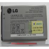 Bateria Lg Vm670 Vx660 Gt540 C570 Gw880 Gw825 Gw820 Gx200
