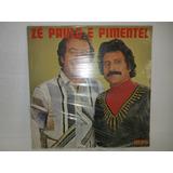 Zé Paulo E Pimentel Lp Novo Lacrado Raro 1983