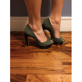 Sapato Peep Toe Santa Lola, Número 36, Peça Única!