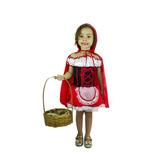 Fantasia Chapeuzinho Vermelho Infantil Carnaval