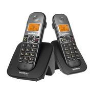 Telefones Intelbras Ts 5122 Preto Vivavoz Identifcham+ramal