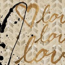 Love Trio Print On Canvas