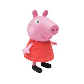 Boneca Peppa Pig Porquinha Brinquedo Infantil Multibrink
