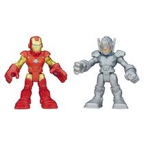 Playskool Heroes Figura 2 Pack Iron Man Y Ultron