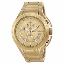 Reloj Armani Exchange Zero Light Acero Dorado Hombre Ax1407