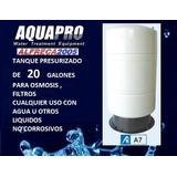 Tanque A7 Presurizado 20 Galones Osmosis Filtros De Agua