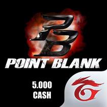 Point Blank 5.000 Cash Cartão Recarga 5k - Envio Imediato