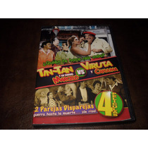 Tintan / Viruta Y Capulina 4 Peliculas En Un Dvd Original