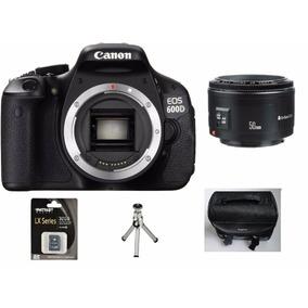 Camera Canon Rebel Eos T5i Lente 50mm+64gb C/10bolsa+tripe