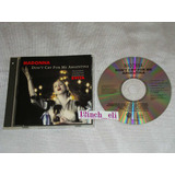Madonna Don´t Cry For Me Argentina 1996 Warner Musi Cd Promo