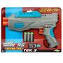 Pistola Air Warriors Tek 3 Tipo Nerf 3 Dardos 22 Metros Sipi