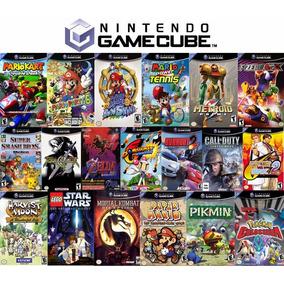 Pacote 5 Jogos Box Nintendo Gamecube Escolha (leia Anuncio)