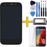 Tela Display Moto G1 + Pelicula + Auto Falante + Ferramenta