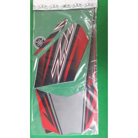 Kit Adesivos Yamaha Xtz 125 E 2014 Vermelha