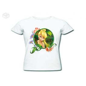 Camiseta Sininho Baby Loock Feminino