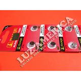 10 Pila Bateria Ag4 Lr626 Srw626 377 Sr626 Reloj