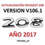 Actualización Gps Peugeot 208 / Mapas 2017 Novedad !!!