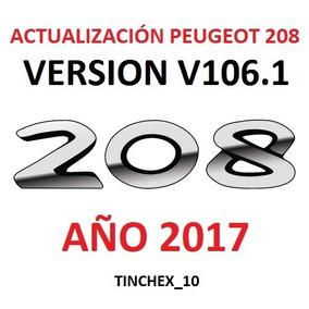 Actualización Gps Peugeot 208 2008 / Mapas 2017 Novedad !!!