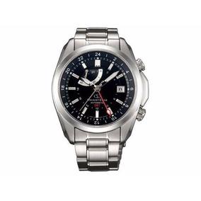 Relógio Orient Star Seeker Dj00001b Automático Gmt Importado