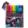 Material Escolar Canetinhas Coloridas 12 Cores Monster High