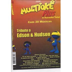 Cdvd Multiokê Plus Karaoke Total Tributo Edson E Udson - Lac
