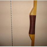 Arco E Flechas Long Bow De Madeira 1,70cm - 40lb - 50lb