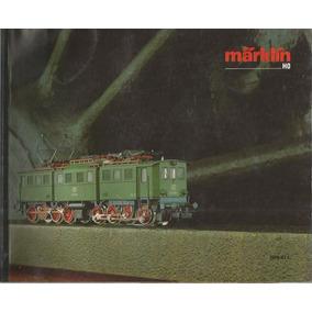 Catalogo / Marklin Ho / 1986-87 E / Aleman