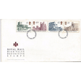 Envelope - First Day Issue - Castelos Inglaterra - 24 Março