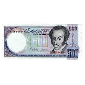 Venezuela Billete De 500 Bolivares 1995 P#67e