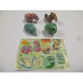 Kinder Ovo - Coleção Completa - K98 N°105 106 107 108 Totem