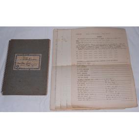 Caderno Velox 23x16cm Com Aulas De Russo + Exercícios Anos60