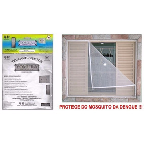 Kit 4 Telas Mosqueteira Anti-dengue (insetos Todas Medidas)
