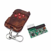Transmissor E Receptor Rf 433 Mhz Controle Remoto Arduino