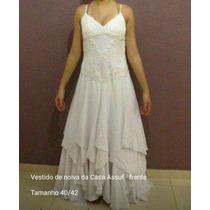 Vestido De Noiva Casa Assuf 40/42