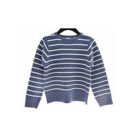Sweater Listado Azul