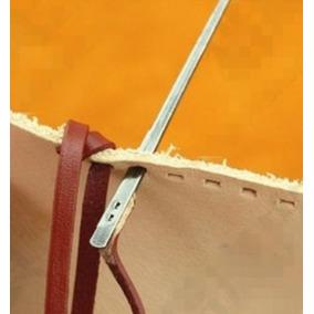 Agujas Para Coser Con Tiras De Cuero Juego De 2 Piezas
