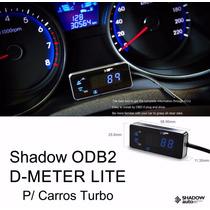 Pressao De Turbo Voltimetro Temp Agua Ar Shadow Obd2 Digital