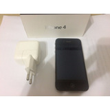 Iphone 4 8gb - Caixa Manual Para Reaproveitar Peças Original